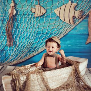 dziscko na sesji zdjęciowej, stylizowane sesje dziecięce, sesja niemowlęca