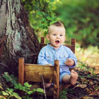 fotograf dziecięcy konin, sesja niemowlęca