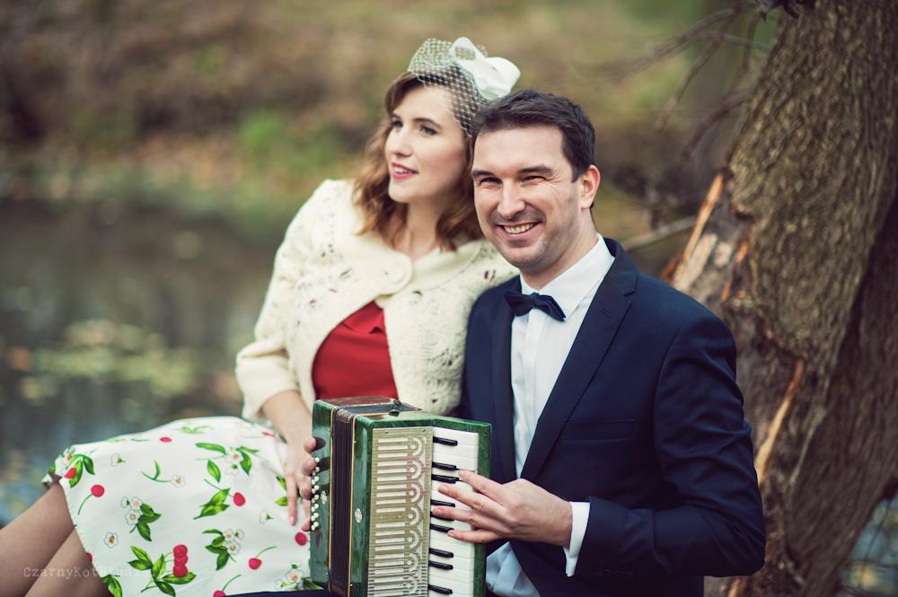 zdjęcia ślubne z muzyką w tle