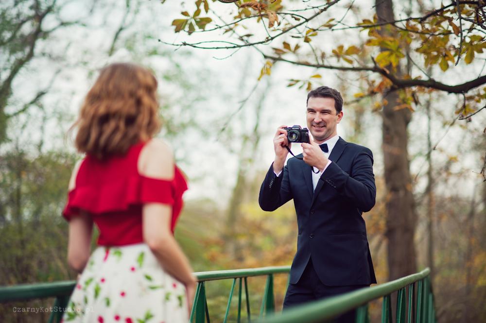 sesja zdjęciowa pary ślubnej