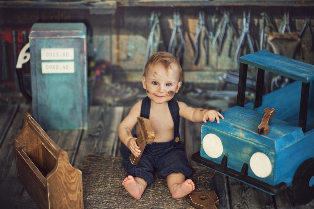 Fotografia niemowlęca studyjna – Oliwier