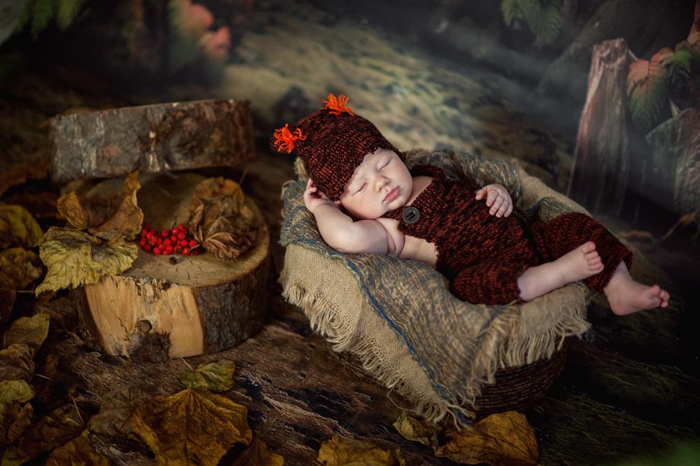 Fotografia dziecięca, fotograf dziecięcy Konin – Dawid i Szymon
