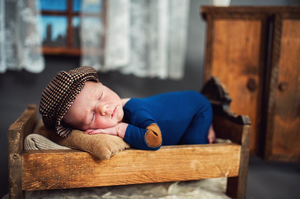 Sesje noworodkowe – 13-to dniowy Wiktor
