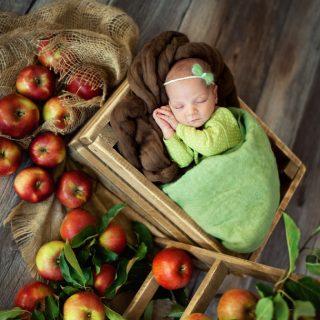 studio noworodkowa, fotograf noworodkowy w koninie