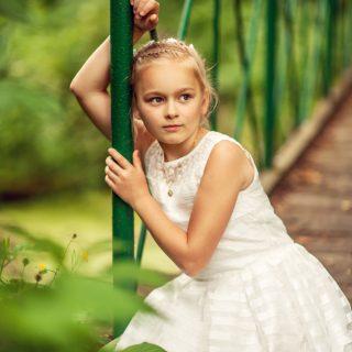 portret dziecka, dziewczynka