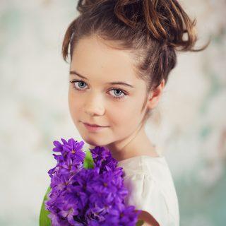 dziecięca sesja portretowa