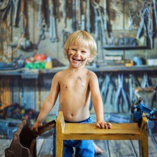 udana sesja dzicięca, niemowlęca, fotograf dziecięcy konin
