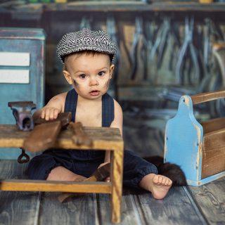 sesja na chrzciny, prezent na roczek, dziecięce studio fotograficzne w Golinie