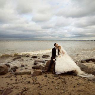 sesja plenerowa nad morzem, fotograf na ślub