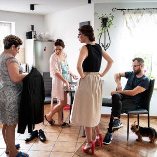 zdjęcia z reportażu ślubnego, fotograf konin