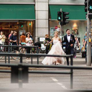 sesja zdjęciowa ślubna na ulicach berlina