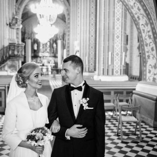 para młoda, ślub kościelny, fotograf konin,