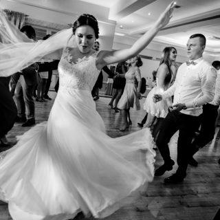 tańce weselne, fotograf weselny konin