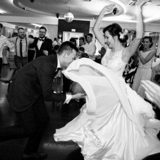 tańce weselne, fotograf weselny, konin