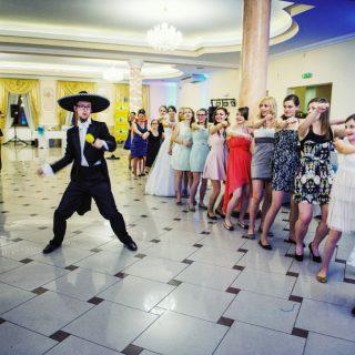 przyjęcie weselne, zabawy weselne, konin, ślub konin