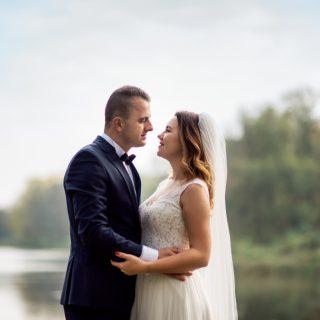 zdjęcia z pleneru ślubnego, konin, fotografia ślubna