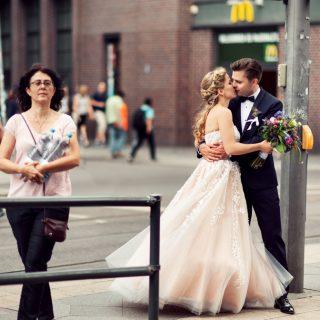 fotografia ślubna w berlinie, styl miejski