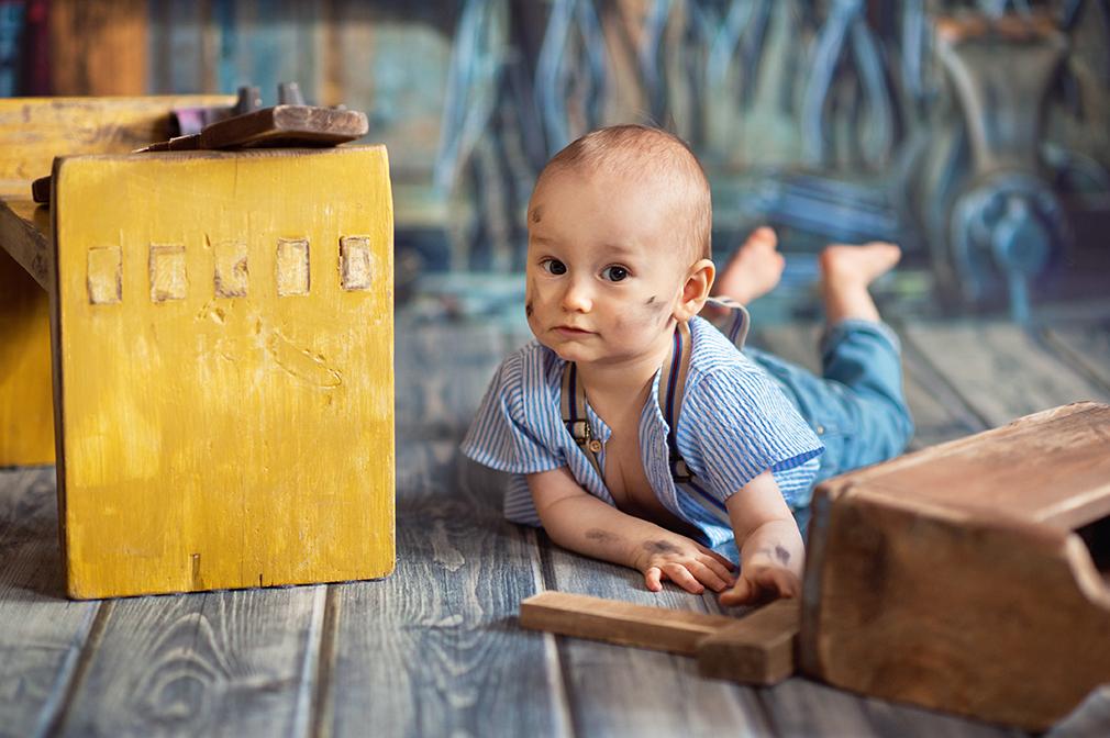 czarny kot studio, fotograf dziecięcy i niemowlęcy konin, sesja zdjęciowa dla malucha