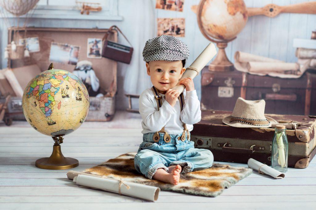 Sesja niemowlęca w studiu – Wojtuś