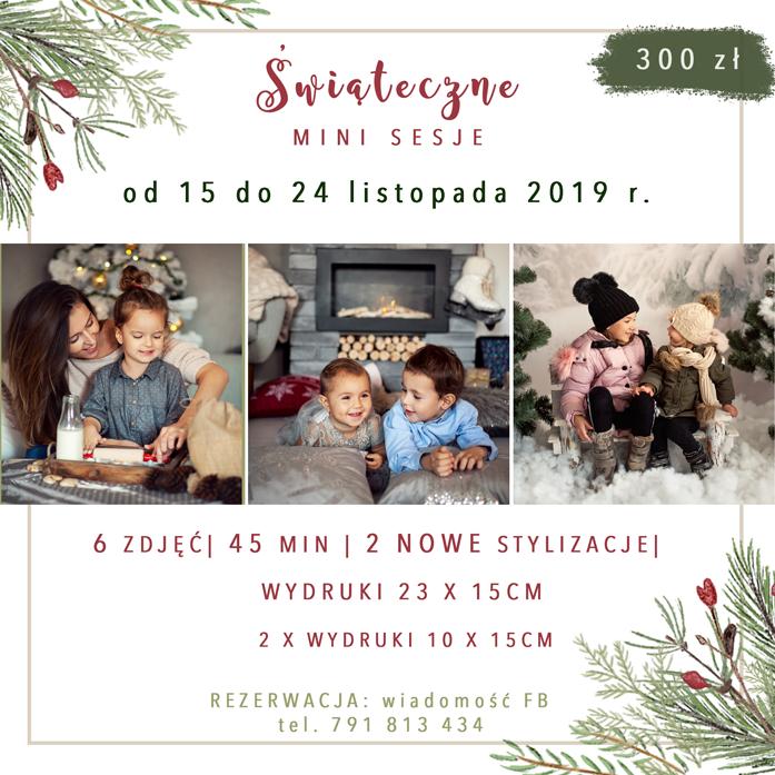 Minisesje świąteczne 2019