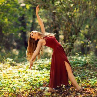 tancerka, sesja zdjęciowa