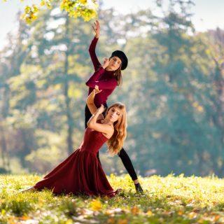 taniec, tancerki, sesja zdjęciowa